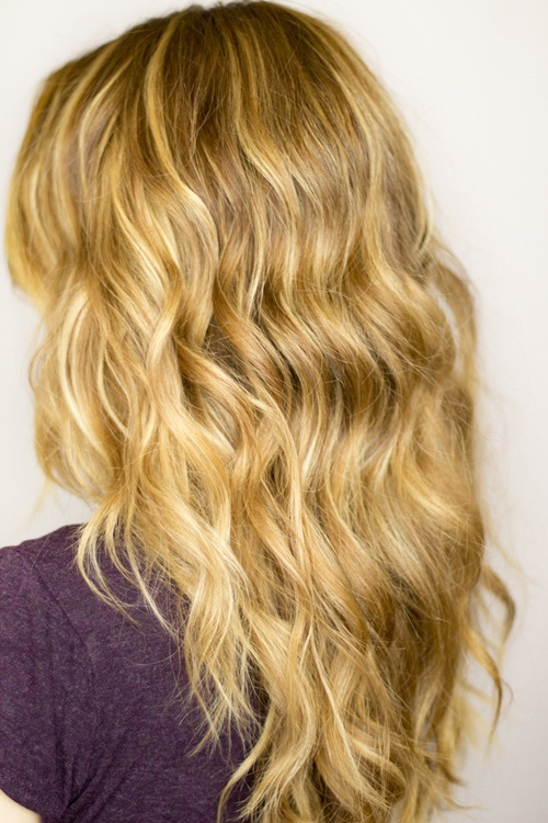 Naturally wavy hairstyles