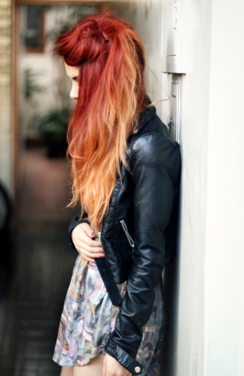 Red Ombre Hair Ideas 2015