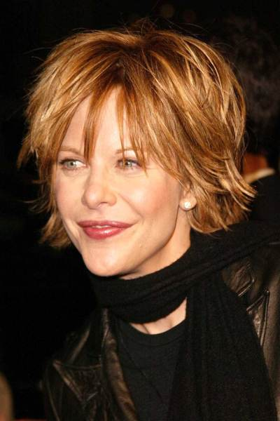 shaggy haircuts for women over 40