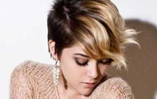 short ombre pixie haircut