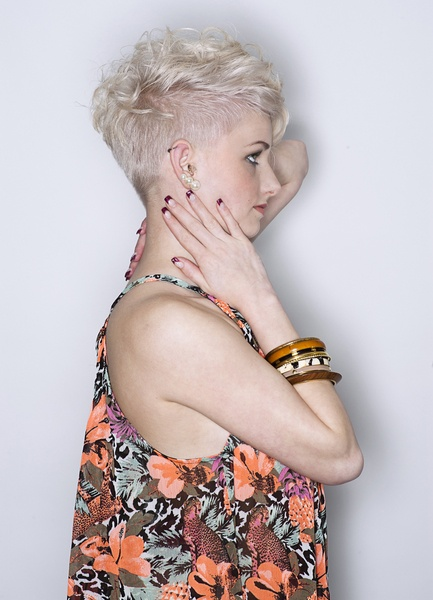 short shag pixie hairstyle