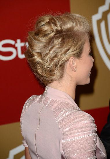 short updo homecoming hairstyles