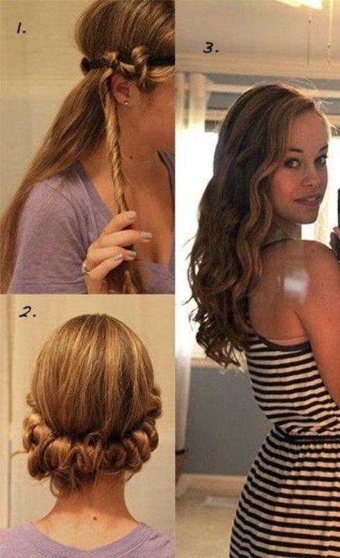 summer wavy hairstyles 2014
