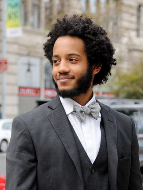 2014 formal hairstyles for black men with curly hair