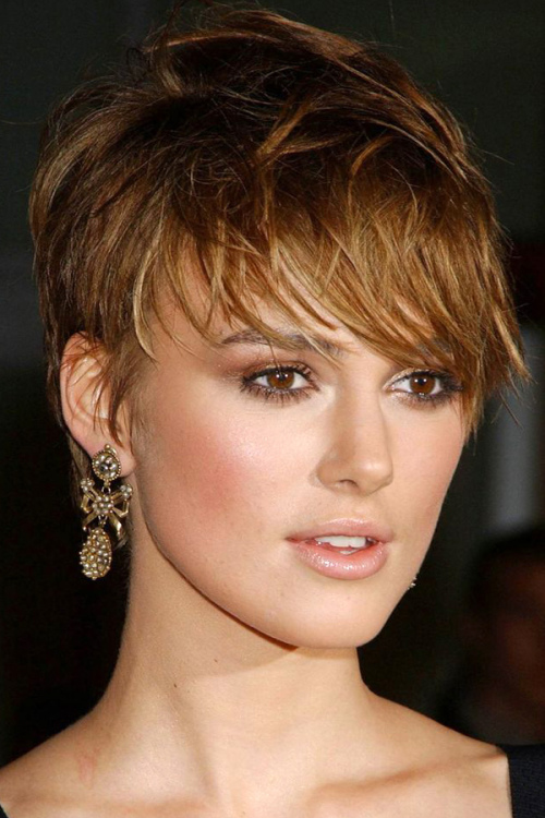 Keira Knightley celebrity short hairstyles 2014