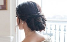 baroque wedding elegant hairstyle