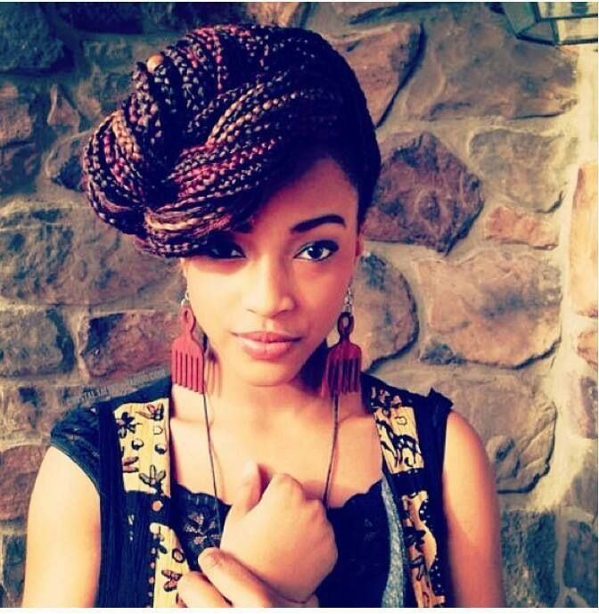 Stupendous 2014 Terrific Braided Hairstyles For Black Women Hairstyles 2016 Hairstyles For Women Draintrainus
