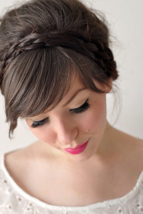 braided alice band summer hairstyles 2014