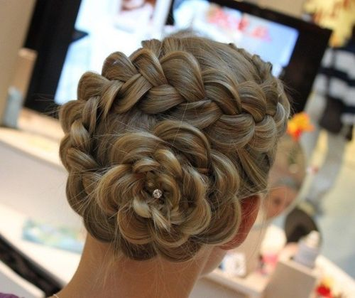 Bridal summer braid hairstyles 2014
