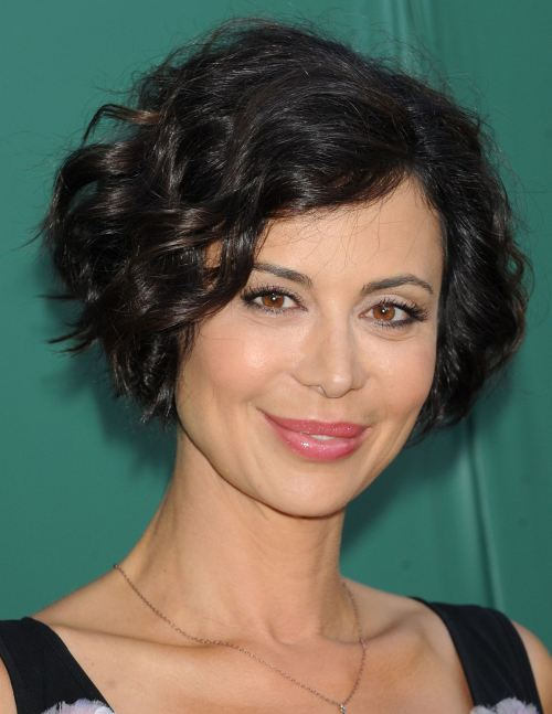 Catherine Bell celebrity short hairstyles 2014