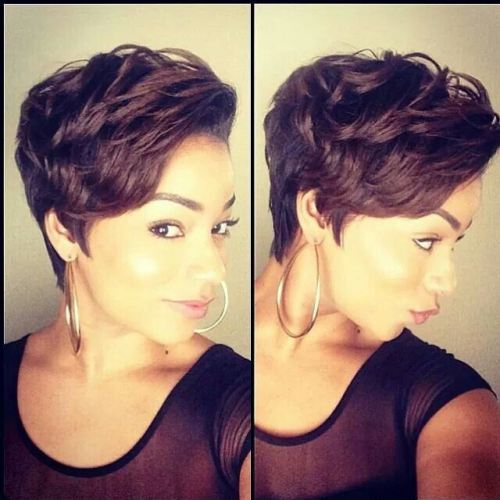 curly pompadour prom hairstyles for short hair