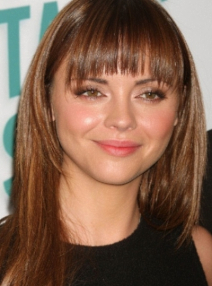 diverse modish types of bangs for round face hairstyles