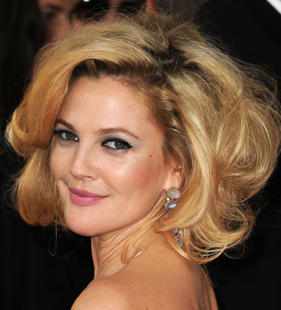 drew barrymore bob hairstyles 2014