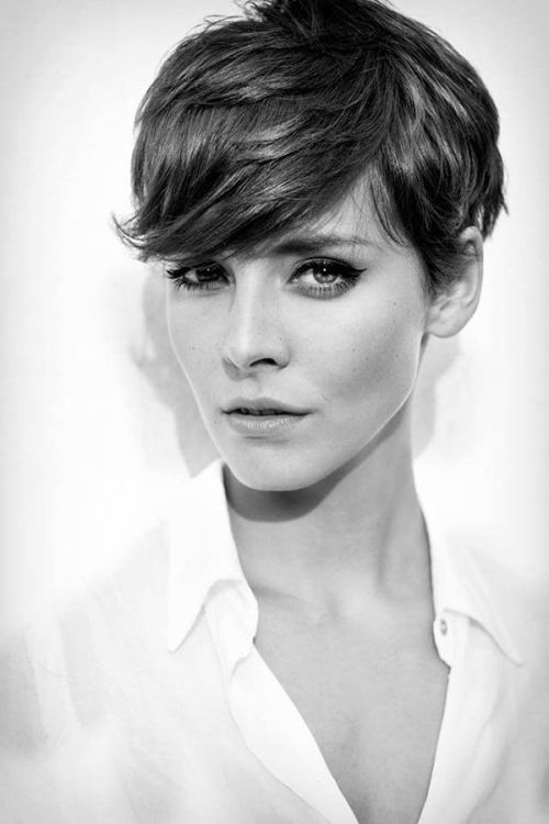 Stupendous Smashing Side Swept Bangs Hairstyles 2014 Hairstyles 2017 Hair Short Hairstyles Gunalazisus