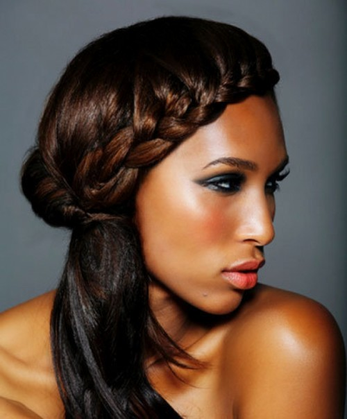 Galerry black hairstyle braids 2014