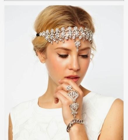 jewel headband summer hair accessories 2014