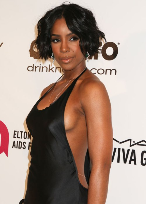 Kelly Rowland celebrity short hairstyles 2014