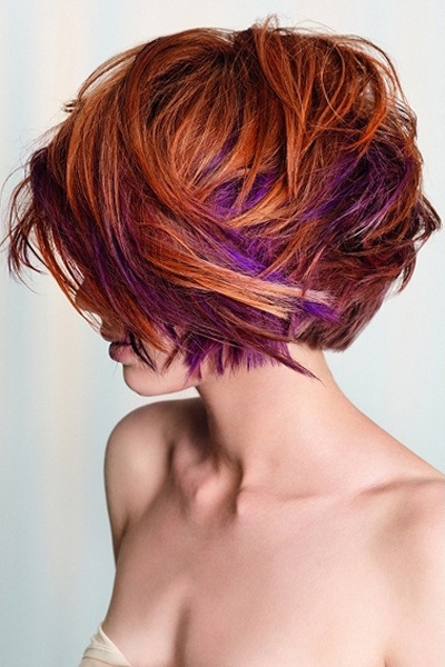 messy bright prom hairstyles for short hair
