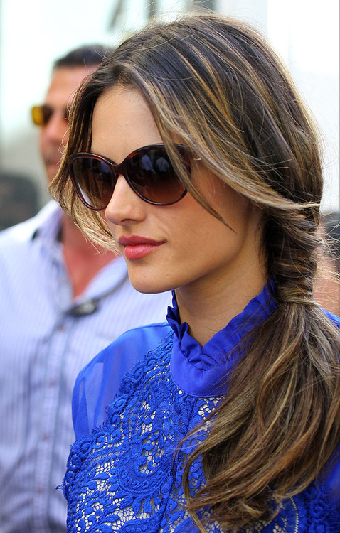 side ponytail summer hairstyles 2014