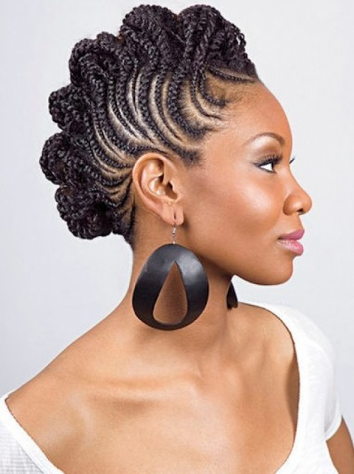 smashing braided hairstyles for black women 2014