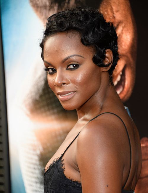 Tika Sumpter celebrity short hairstyles 2014