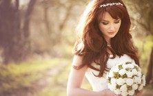 wedding hairstyles and bridal hair accessories for summer 2014