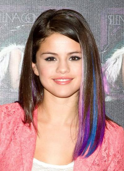 colorful back to school hairstyles 2014