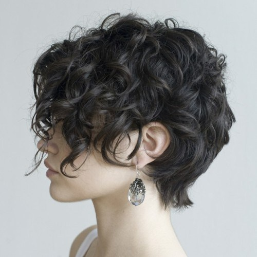 curly short hairstyles 2014