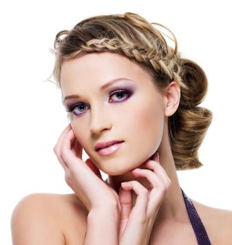 fishtail braided bang hairstyles