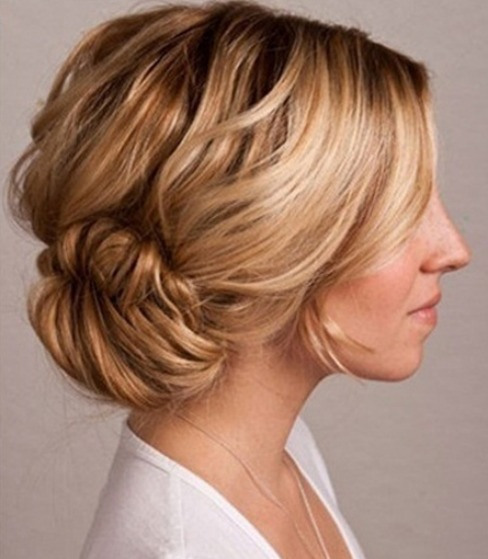fishtail braided bun hairstyles 2014