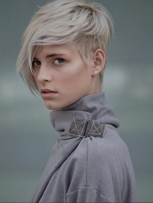 long bangs pixie short hairstyles 2014