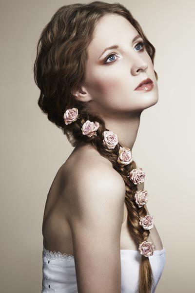 wedding fishtail braids hairstyles 2014