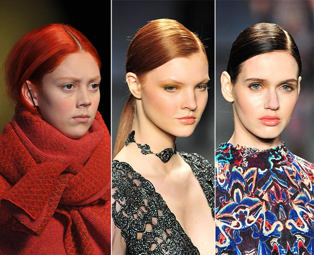 2014 Fall - Winter 2015 hair color tendencies