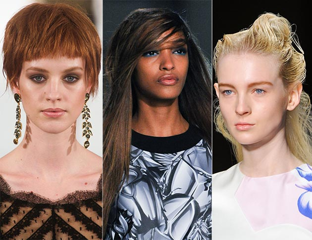 2014 Fall - Winter 2015 hairstyles with bangs