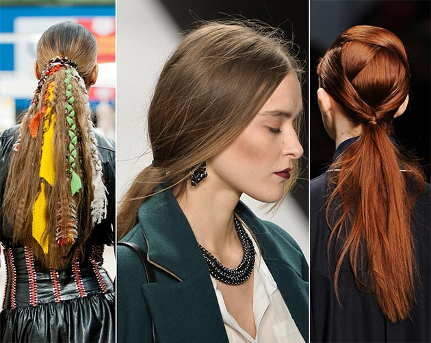 2014 fall winter 2015 hairstyles tendencies hairstyles
