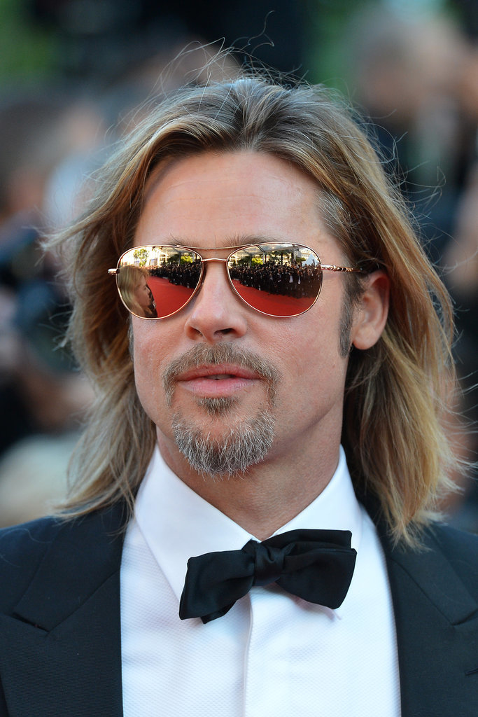 Brad Pitt bob hairstyles for 2015