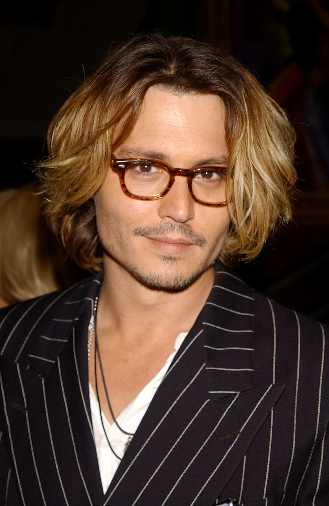 Johnny Depp bob hairstyles for 2015