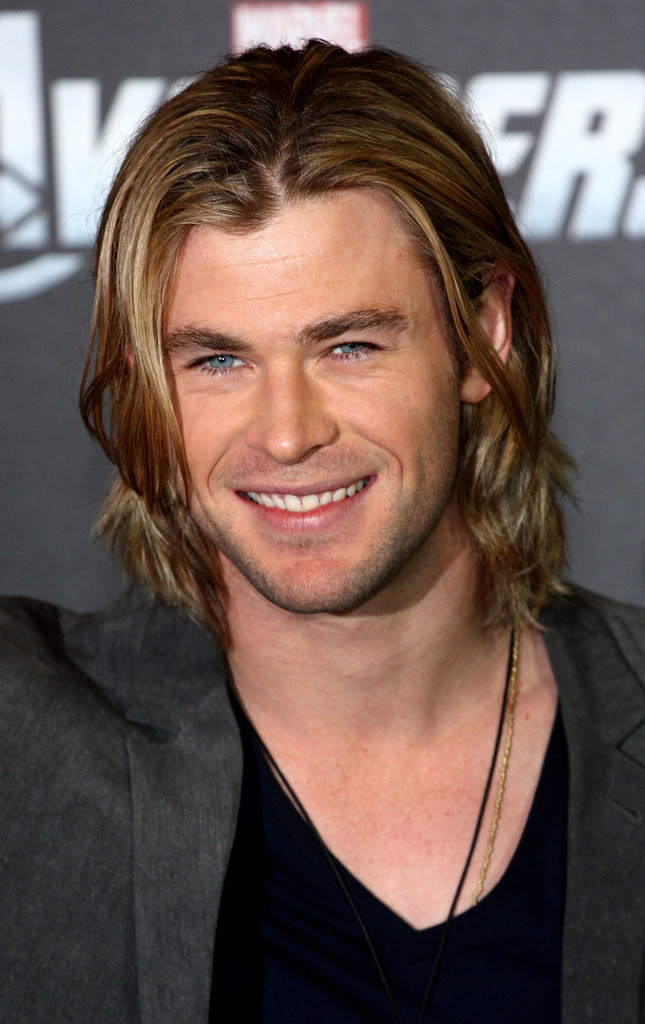 Chris Hemsworth bob hairstyles for 2015