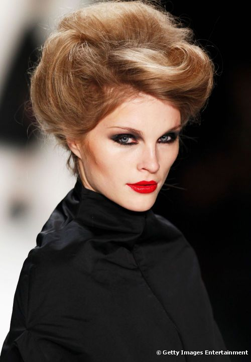 2015 hairstyles trends - retro voluminous hairstyles