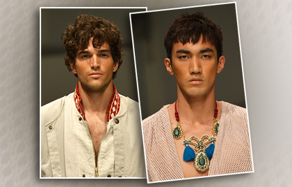 2015 mens natural hairstyles from Milano Moda Uomo