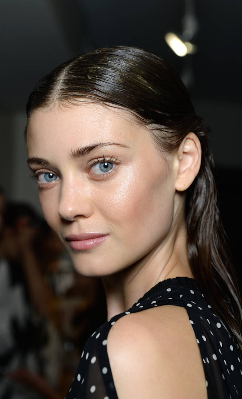 NYFW hairstyles trends 2015 - wet hair