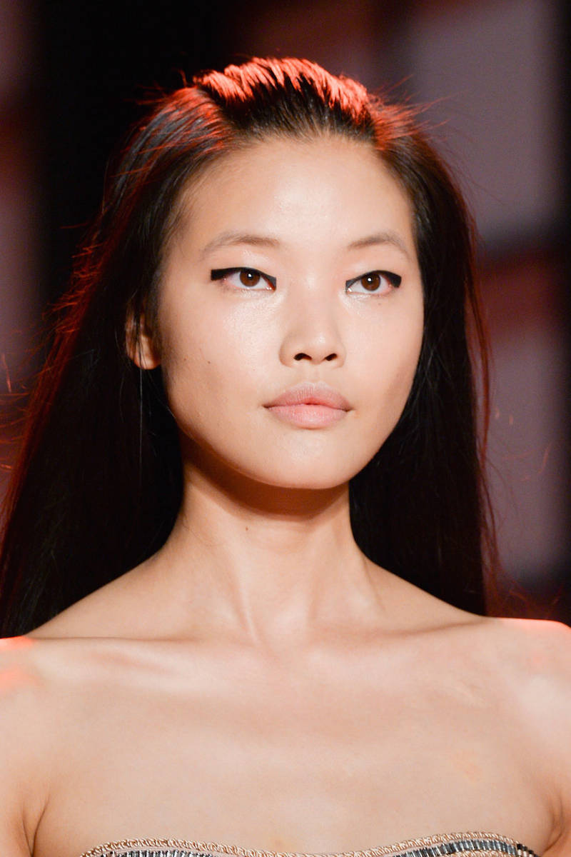 NYFW hairstyles trends 2015 - loose straight hair