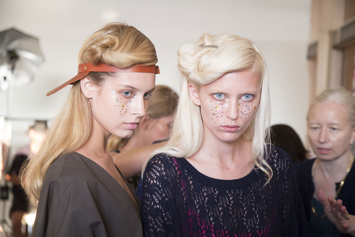 NYFW hairstyles trends 2015 - twists hair