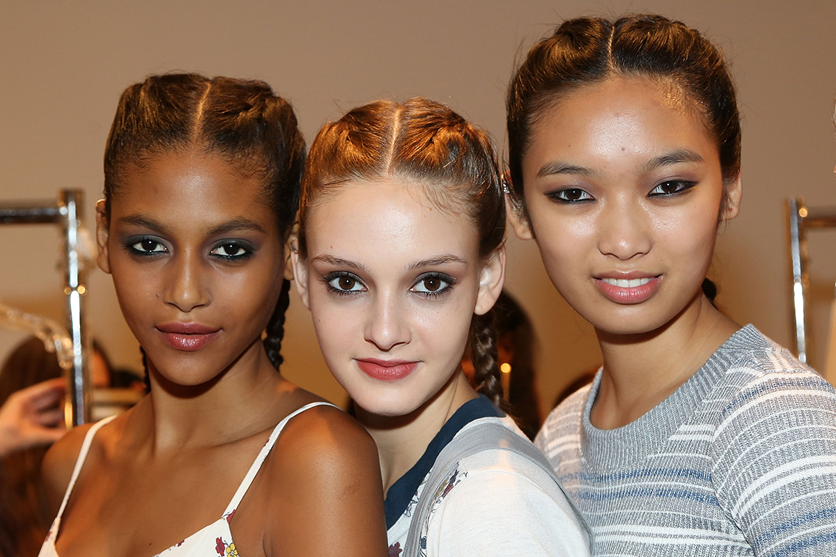 NYFW hairstyles trends 2015 - braids hair