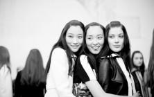 Paris Fashion Week Slicked Back Hairstyles 2015
