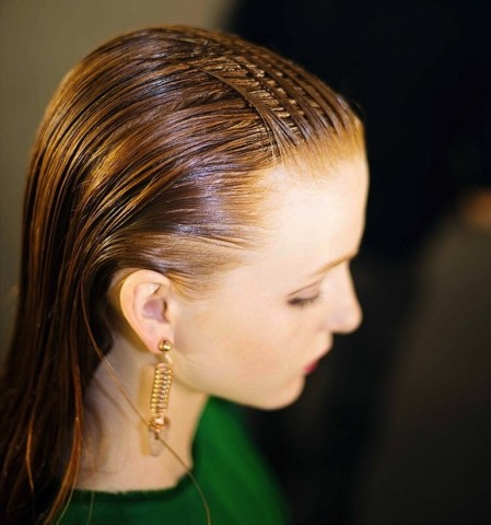 Cédric Charlier Slicked Back Hairstyles 2015
