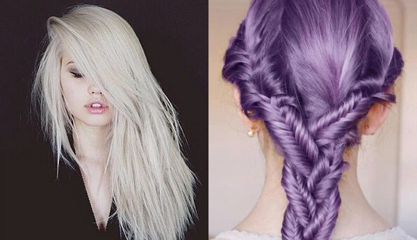 Pastel Color Hairstyles 2015