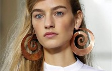 Tory Burch NYFW Spring 2015 hairstyles