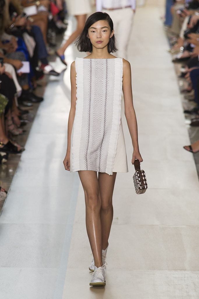 Tory Burch NYFW Spring 2015 hairstyles - easy bob haircut