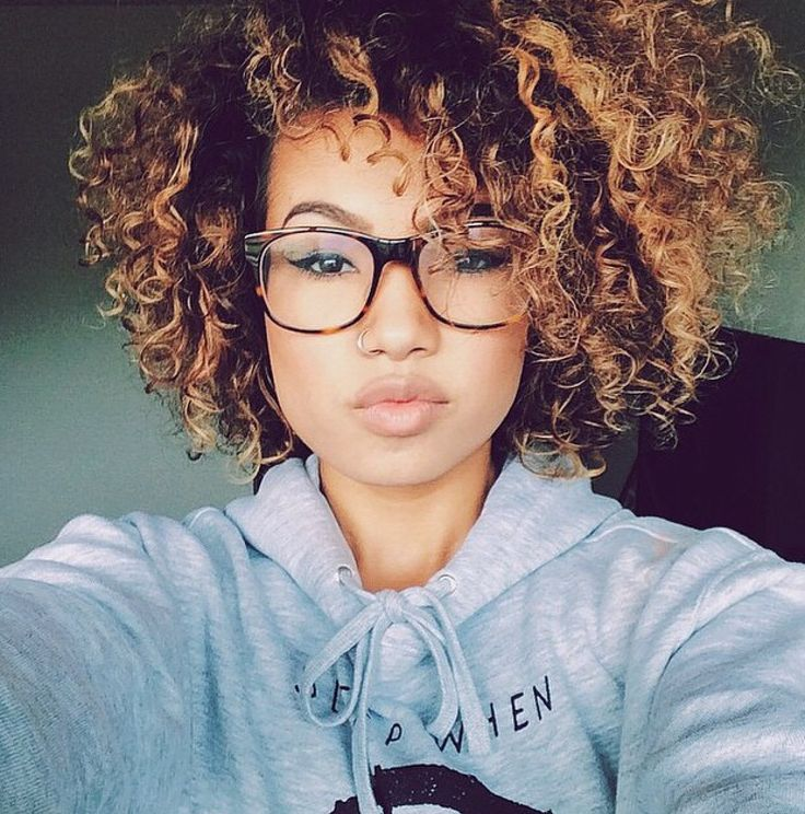 Cool Amazing Ombre Highlights For Natural Curly Hair Hairstyles 2016 Hairstyles For Women Draintrainus